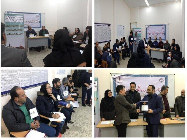 اولین مسابقات شبیه سازی دادگاه مجازی در جهاد دانشگاهی آذربایجان غربی برگزار شد