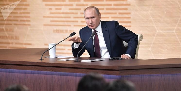 پوتین: روسیه متقابلاً پاسخ تحریم های آمریکا را می دهد