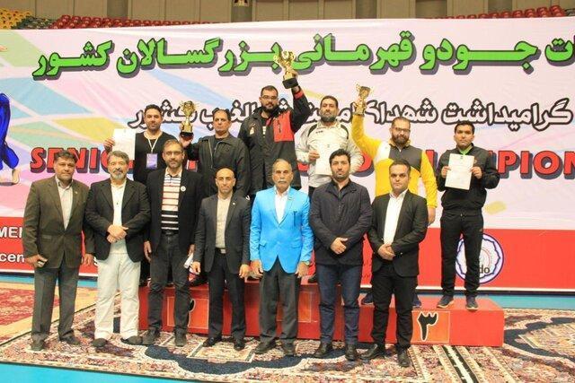 تهران قهرمان جودوی بزرگسالان ایران شد