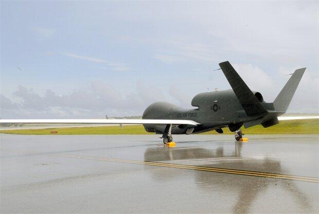 پرواز پهپاد جاسوسی آمریکا در شبه جزیره کریمه