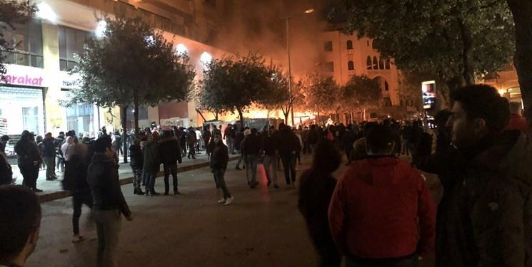 نماینده سازمان ملل: انگیزه خشونت بعضی معترضان لبنان، سیاسی است