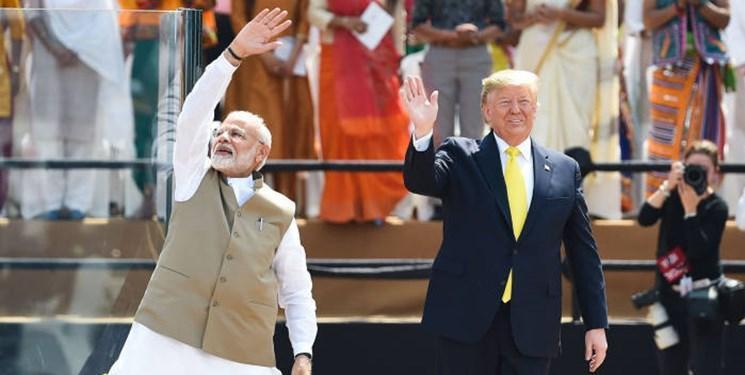 نشست خبری سران آمریکا و هند ، ترامپ: دهلی نو سه میلیارد تسلیحات از آمریکا می خرد