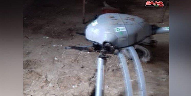 چهارمین پهپاد ترکیه در ادلب سرنگون شد