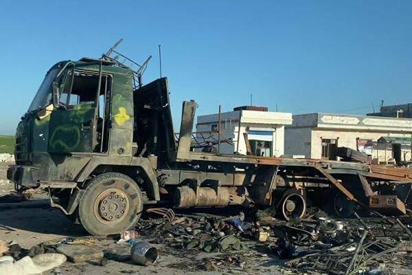 ارتش سوریه حملات تروریستها به بزرگراه دمشق-حلب را دفع کرد