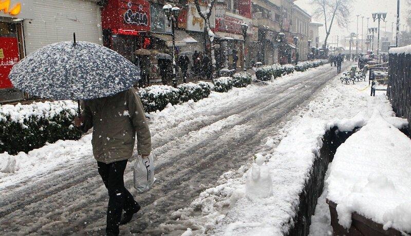 برف و باران کشور را فرامی گیرد