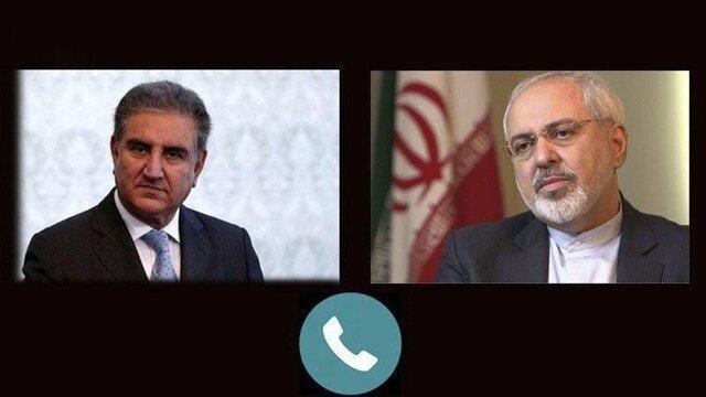 تشکر ظریف از پاکستان به خاطر کوشش هایش جهت برطرف تحریم های آمریکا علیه ایران