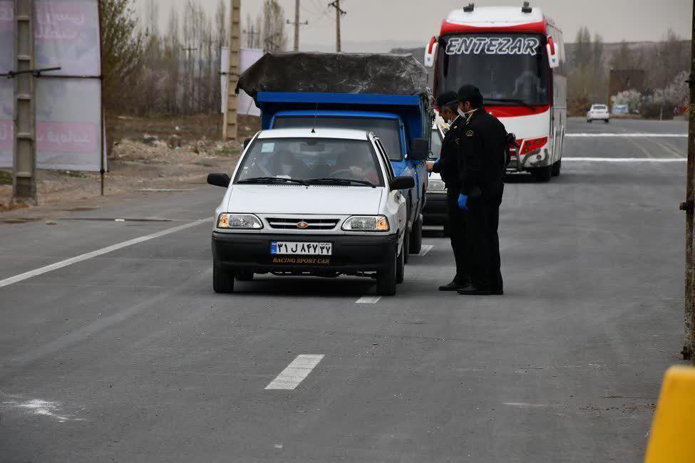 خبرنگاران توقیف 6 خودرو خاطی در قالب طرح فاصله گذاری اجتماعی در سردشت