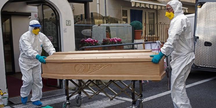 ادامه فرایند نزولی قربانیان کرونا در ایتالیا