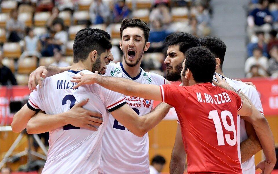 خبرنگاران والیبال ایران با بازیکنان ذخیره به نخستین پیروزی در جام جهانی رسید