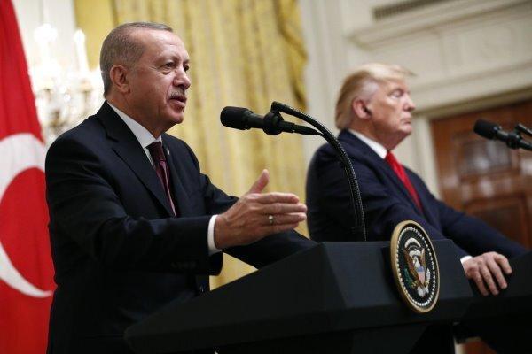 گفتگوی ترامپ و اردوغان پیرامون لیبی و تظاهرات در آمریکا