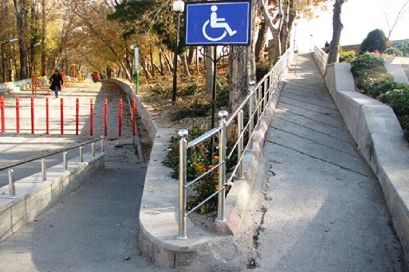 خبرنگاران 13 راستا در شهر آستارا برای تردد معلولان مناسب سازی می گردد