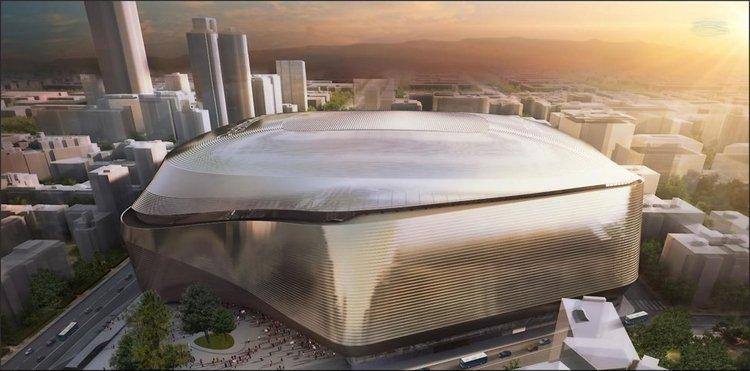 (تصاویر) ورزشگاه سوپر مدرن رئال مادرید!