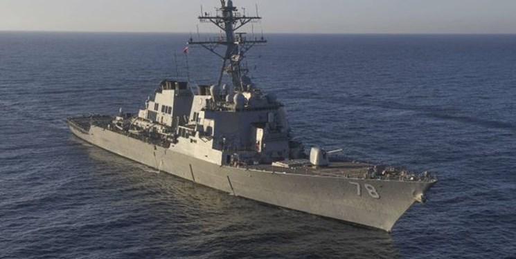 ناوشکن موشک انداز آمریکایی برای حضور در رزمایش با اوکراین راهی دریای سیاه شد