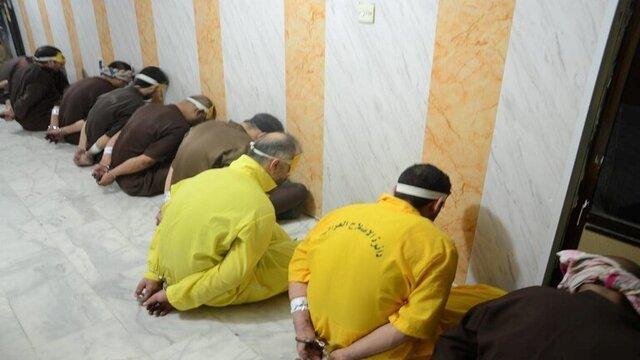 عراق: بازداشت گروه تروریستی