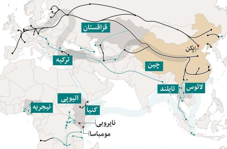 غرب آسیا نبردگاه جدید چین با آمریکاست؛ این بار به وسیله ایران! ، پیمان تهران-پکن خبر بد برای غرب