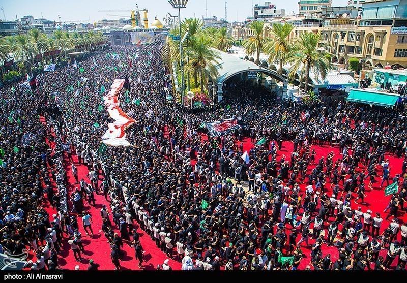 طرح الحشد الشعبی برای مراسم اربعین حسینی(ع)