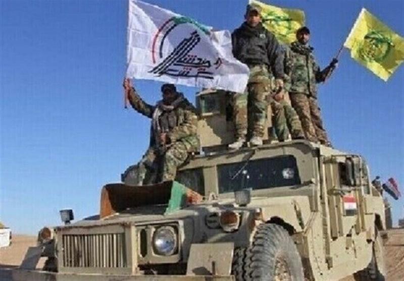 تداوم عملیات الحشد الشعبی برای پاکسازی دیالی از بازمانده های داعش