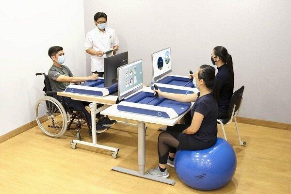 توانبخشی بعد از سکته مغزی با دستگاه روباتیک خانگی