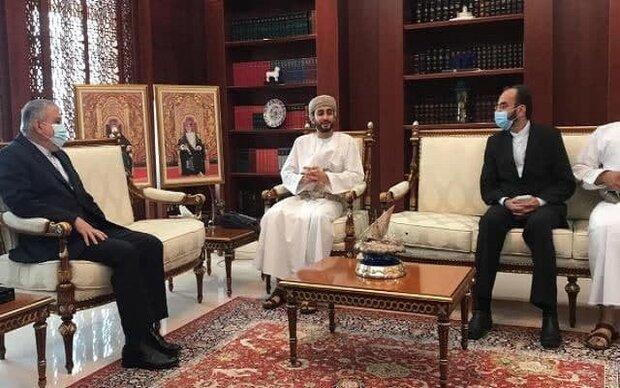 صالحی امیری با وزیر ورزش و فرهنگ عمان ملاقات کرد