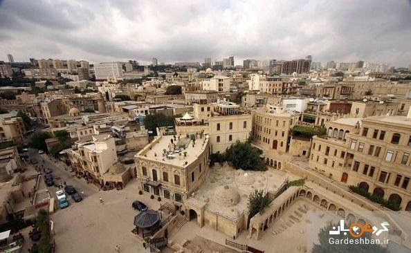شهر قدیمی باکو؛ از معروف ترین مناطق شهر