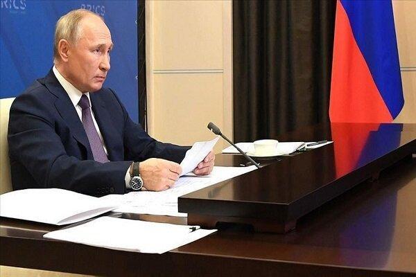 پوتین با علی اف و پاشینیان تلفنی تبادل نظر کرد