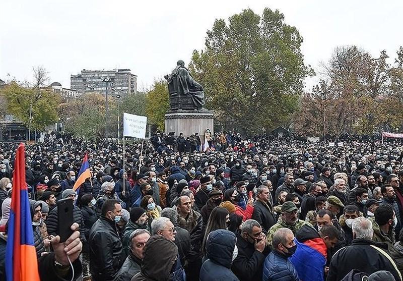 بازداشت 34 نفر در تظاهرات ضد دولتی ارمنستان