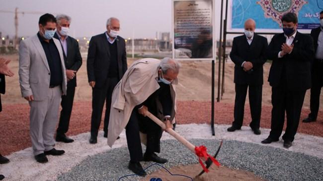 کلنگ احداث ساختمان جدید اتاق اصفهان زده شد