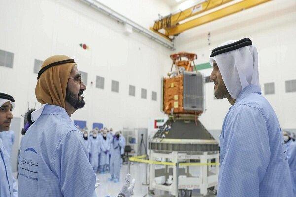 پرتاب ماهواره نظامی امارات به فضا به تعویق افتاد