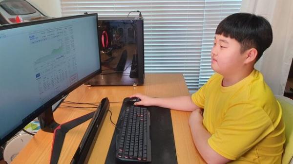 پسر 12 ساله کره ای از بورس میلیونر شد