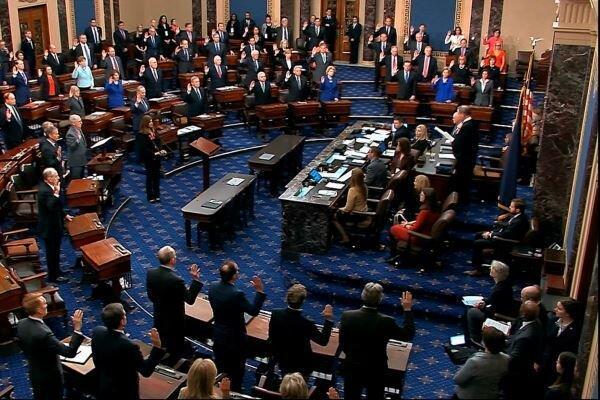 سنای آمریکا استیضاح ترامپ را مطابق قانون اساسی دانست