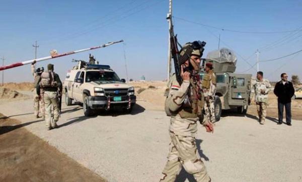 انهدام مخفیگاه تروریست ها در الانبار