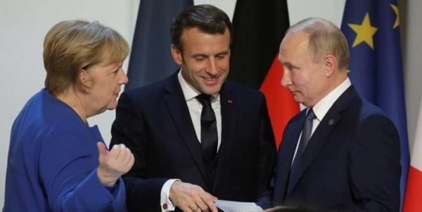 ماکرون: گفت وگو میان اروپا و روسیه امری لازم است
