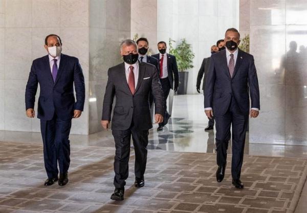 همکاری امنیتی و تجاری محور نشست امروز سران مصر، عراق و اردن