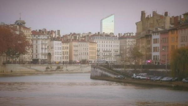 کارت پستال از لیون؛ چشم انداز شهر از فراز تپه فورویر