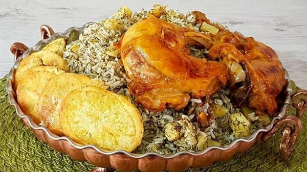 طرز تهیه سیب پلو کرمانشاهی، خوشمزه و مقوی
