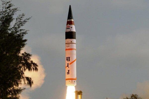 آزمایش موفقیت آمیز موشک نو بالستیک هند