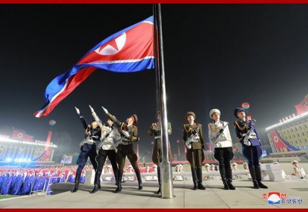 کیم جونگ اون در جشن و رژه نظامی